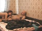 Dirty Old Men Fucking Young Women in Home Video