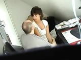 Hidden Camera Caught Mature Amateur Couple Fucking At Office