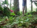 Forest Fucking Filmed On Hidden Cam