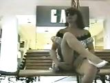 Kinky Amateur Wife Flashing Naked Pussy In Public Place