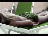 Caught Hot Woman Teasing On Voyeur Cam