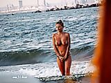 Topless Getting Out Of Water Photo Pic