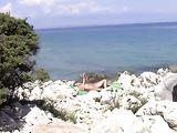Nudists Beach in Croatia Sexy Pussy Does Nude Sunbathing