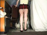 Amateur Wife Filmed Upskirt on Voyeur Hidden Camera