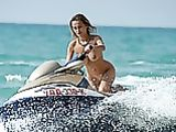 Nude Jet Skiing Photo