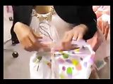 Voyeur Video novia alemana follando en el vestidor de cabina