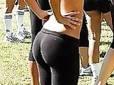 Candid Yoga Pants Photos