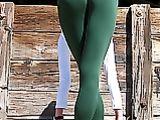 Yoga pantalones fotos porno Cameltoe
