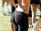 Fotos Candid de pantalones de Yoga