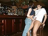 Boyfriend Girlfriend Handjob Photos in Public Bar