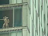Fucking by the Window in Plain Sight Hot Porn Gif