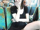 Nude Shots Pussy Girlfriend Photos de mignon de bus public