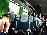 Ass Pictures intermitentes de novia desnuda en un tren público