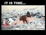 Desnuda en el Playa Video