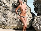 Nude Vacation Pictures of Hot Tall Blonde Lady